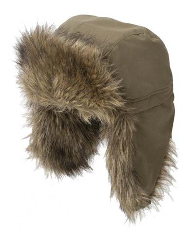 шапка зимняя енот